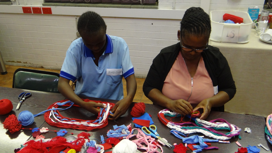 Hand-made product training